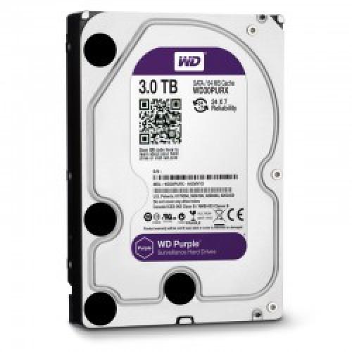 Ổ cứng WD Purple 3TB WD30PURX, đại lý, phân phối,mua bán, lắp đặt giá rẻ
